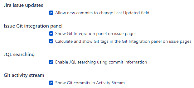 Git issue updates, tags, activity stream, email notification