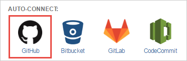 git for jira cloud auto-connect panel - select github