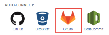 git for jira cloud auto-connect panel - select gitlab