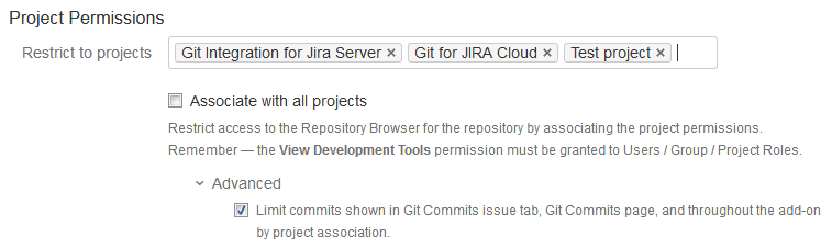 Setting up Repositories | Documentation - Git Integration for Jira