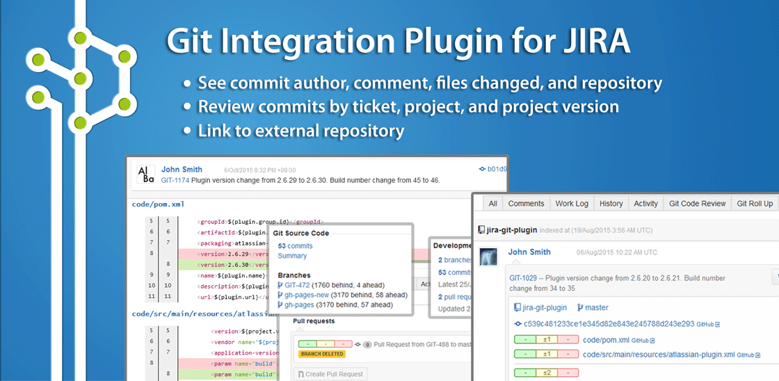Git Integration for Jira product feature